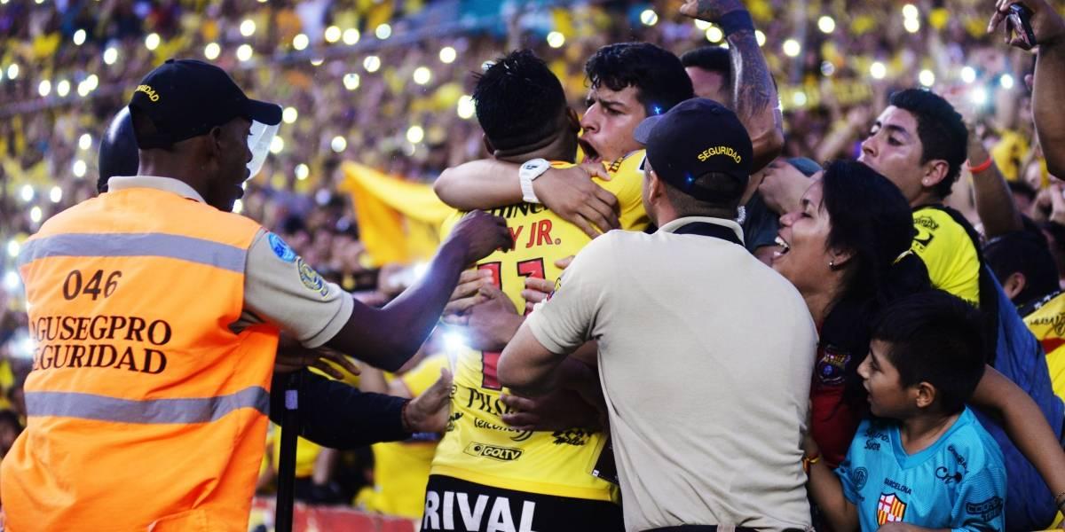 Barcelona SC, 500 fechas como puntero del campeonato nacional