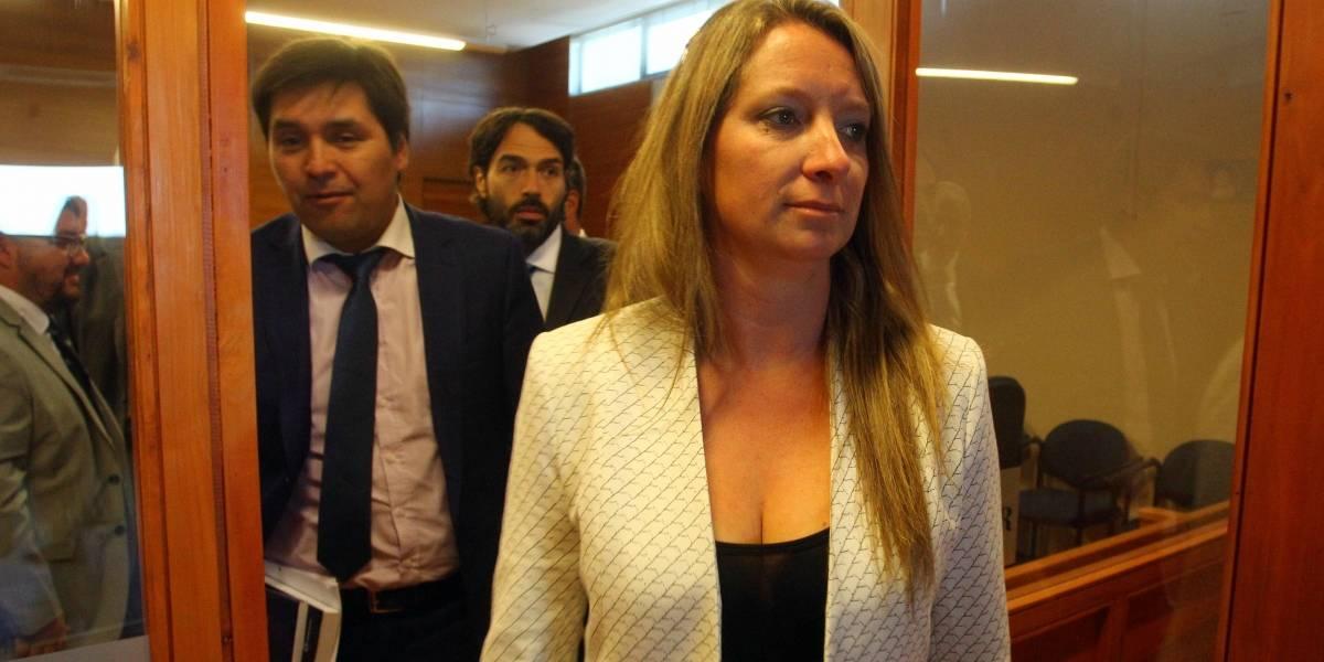 Por sexta vez postergan preparación de juicio oral de Natalia Compagnon