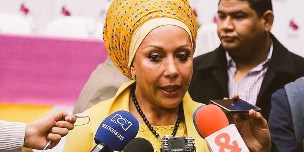Piedad Córdoba declina su candidatura a las elecciones presidenciales