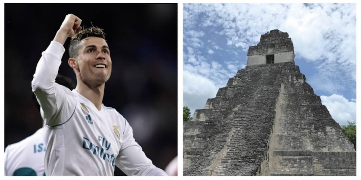 La foto del Real Madrid destacando la belleza de Tikal que ganó miles de reacciones