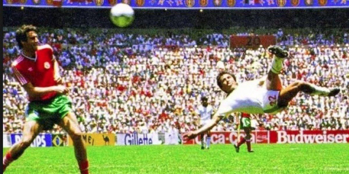 Gol de Manuel Negrete fue votado como el mejor en la historia de los Mundiales