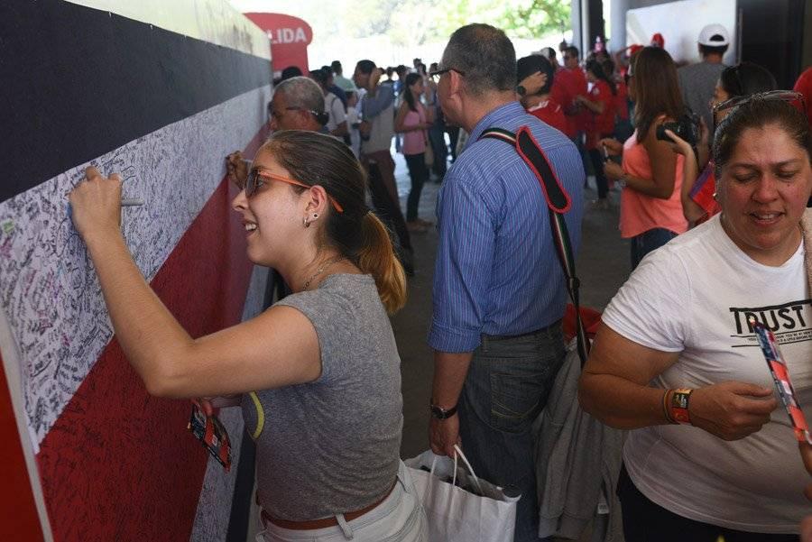 Nacionalismo en el tour de Coca-Cola