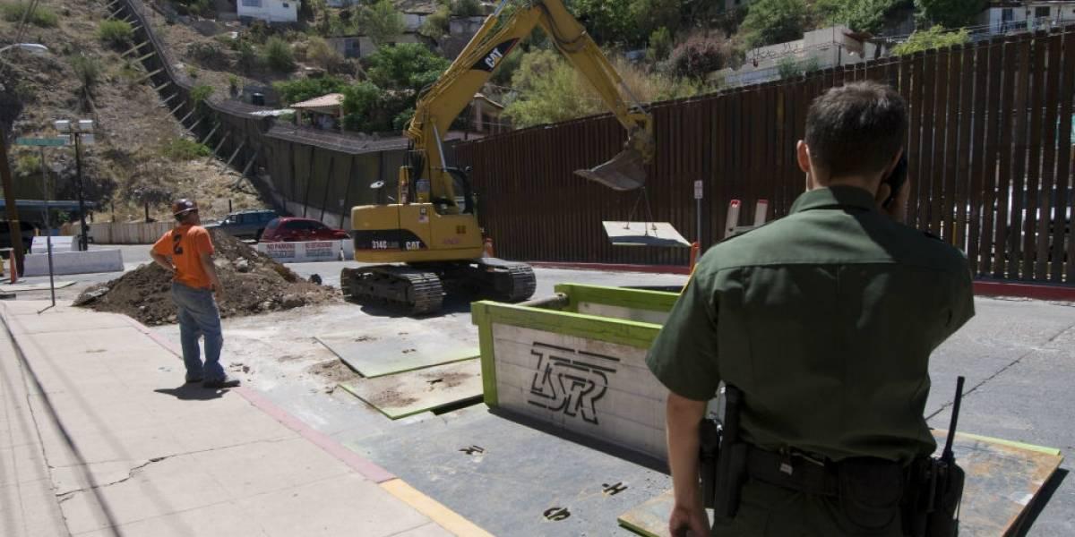 Comienza el reemplazo de valla fronteriza en Nuevo México