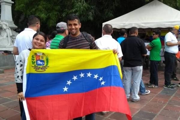 Venezolanos en cali