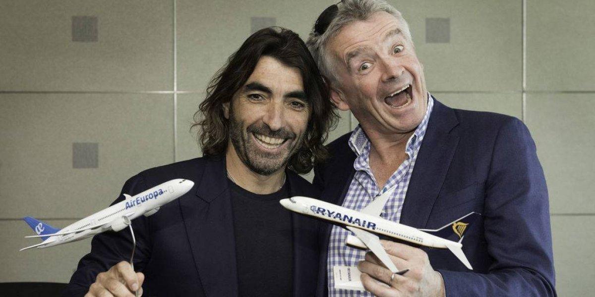 Air Europa y Ryanair consolidan comercialización de vuelos
