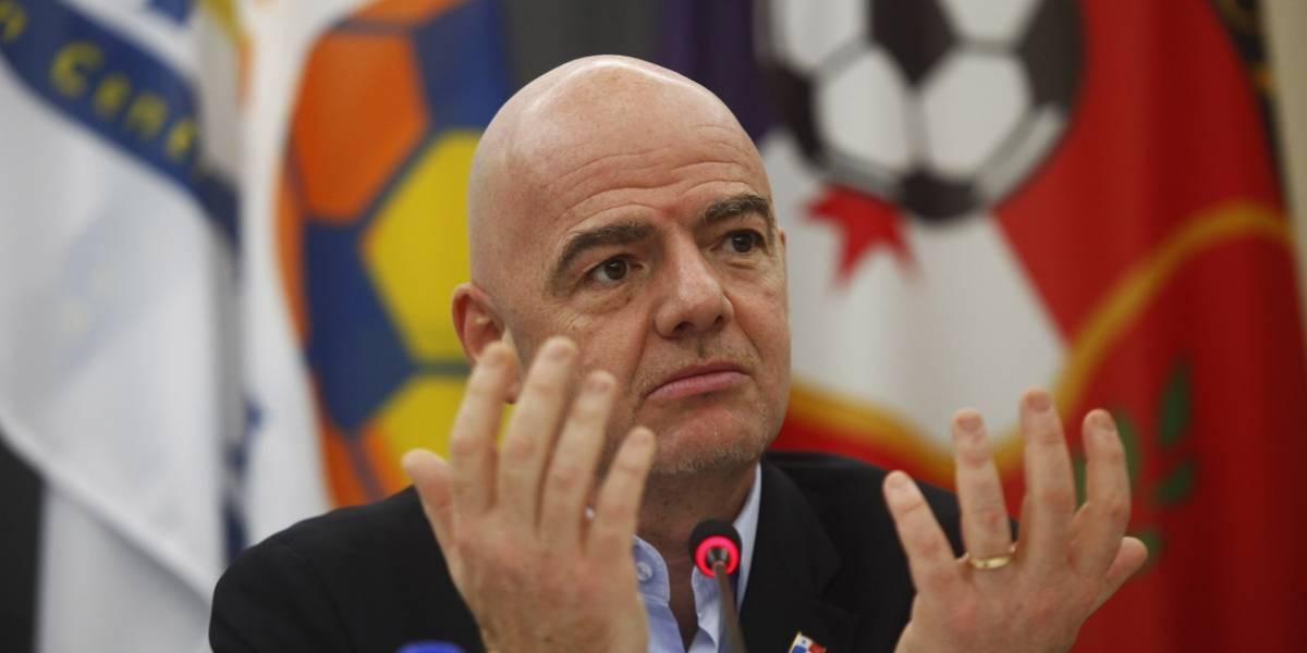 La Fifa amenazó con sancionar a dos selecciones mundialistas