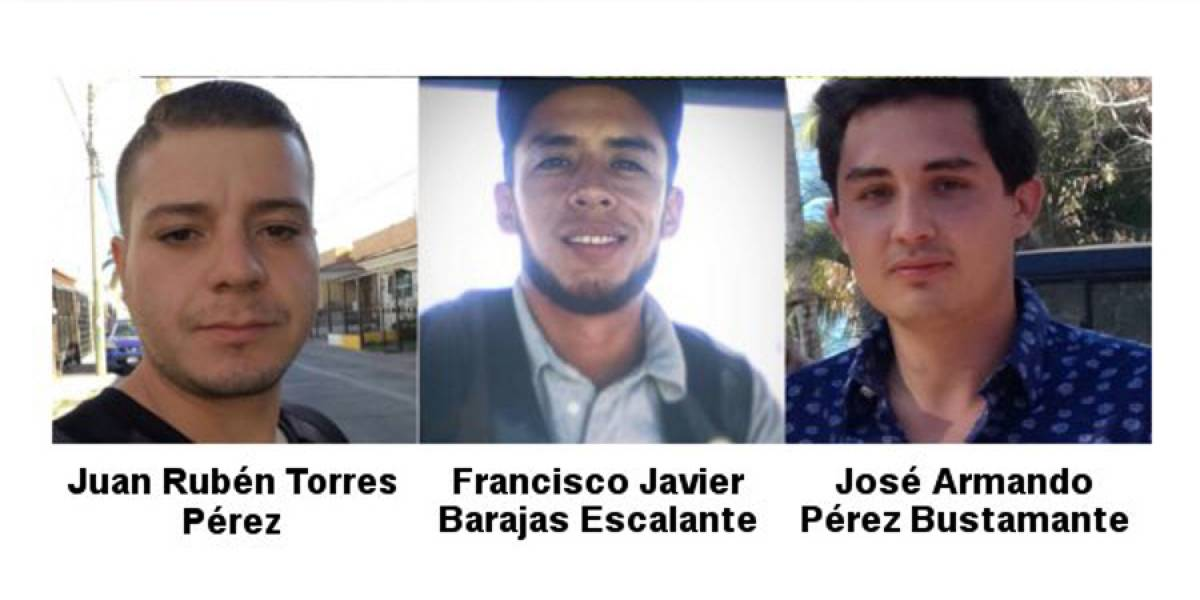 Encuentran vivos a los tres jóvenes de Paseos del Sol desaparecidos