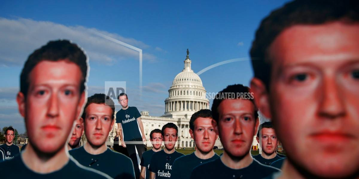 Yo empecé Facebook, lo dirijo y soy el responsable — Zuckerberg al Senado
