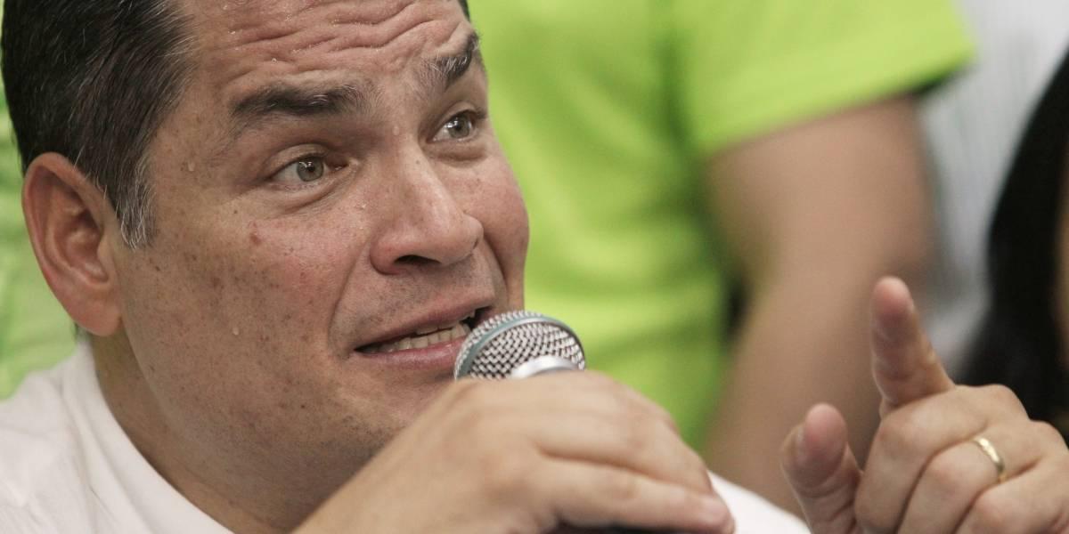 Rafael Correa no regresará a Ecuador para defenderse de acusaciones de Contraloría