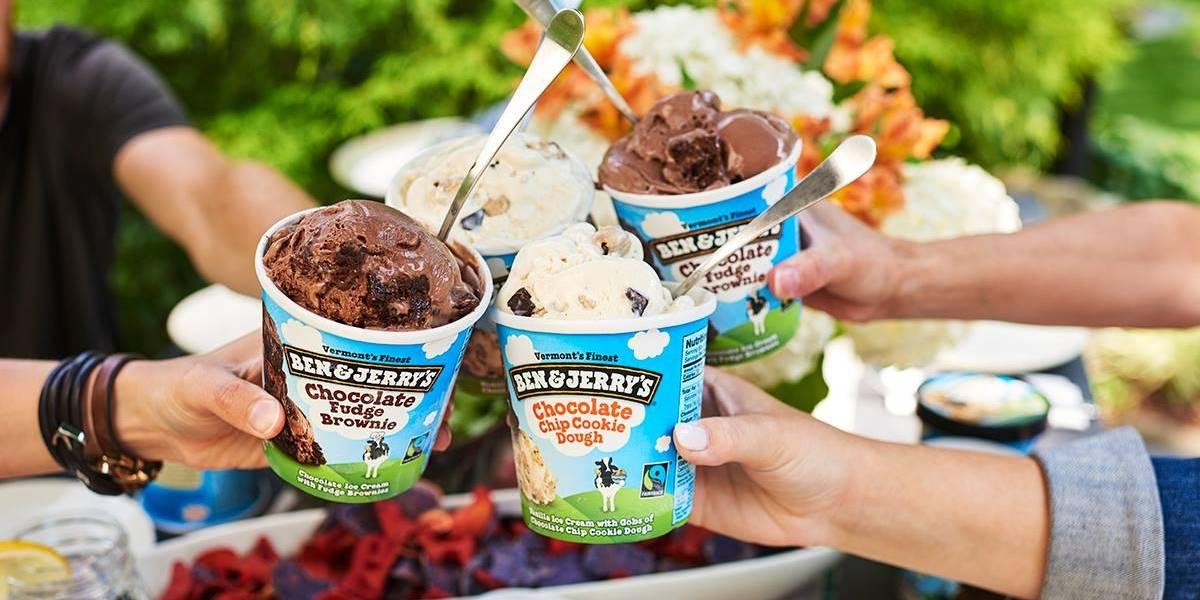 Ben & Jerry's está distribuindo sorvete grátis nesta terça; veja onde retirar