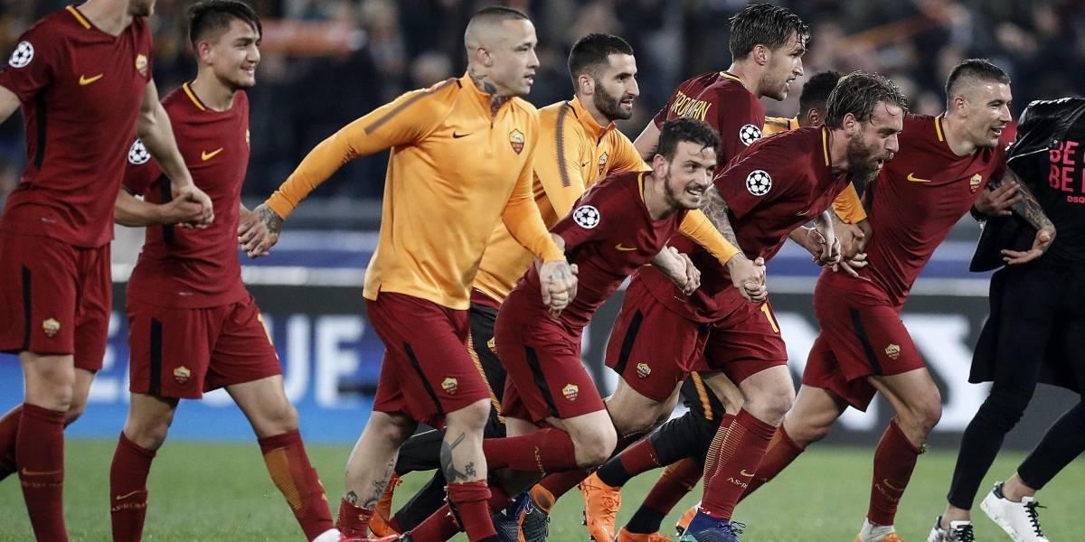 Roma le da una bofetada al mundo al eliminar a Barcelona