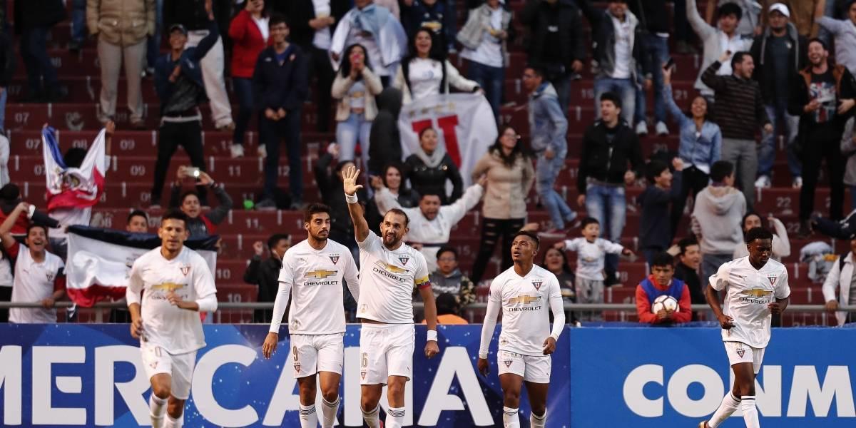 Copa Sudamericana: Liga de Quito ganó 2-1 a Guabirá