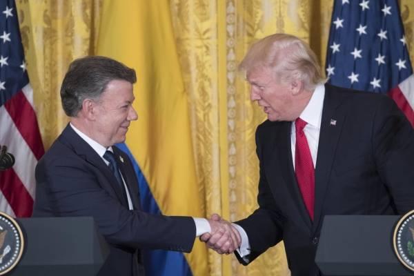 Donald Trump y Santos