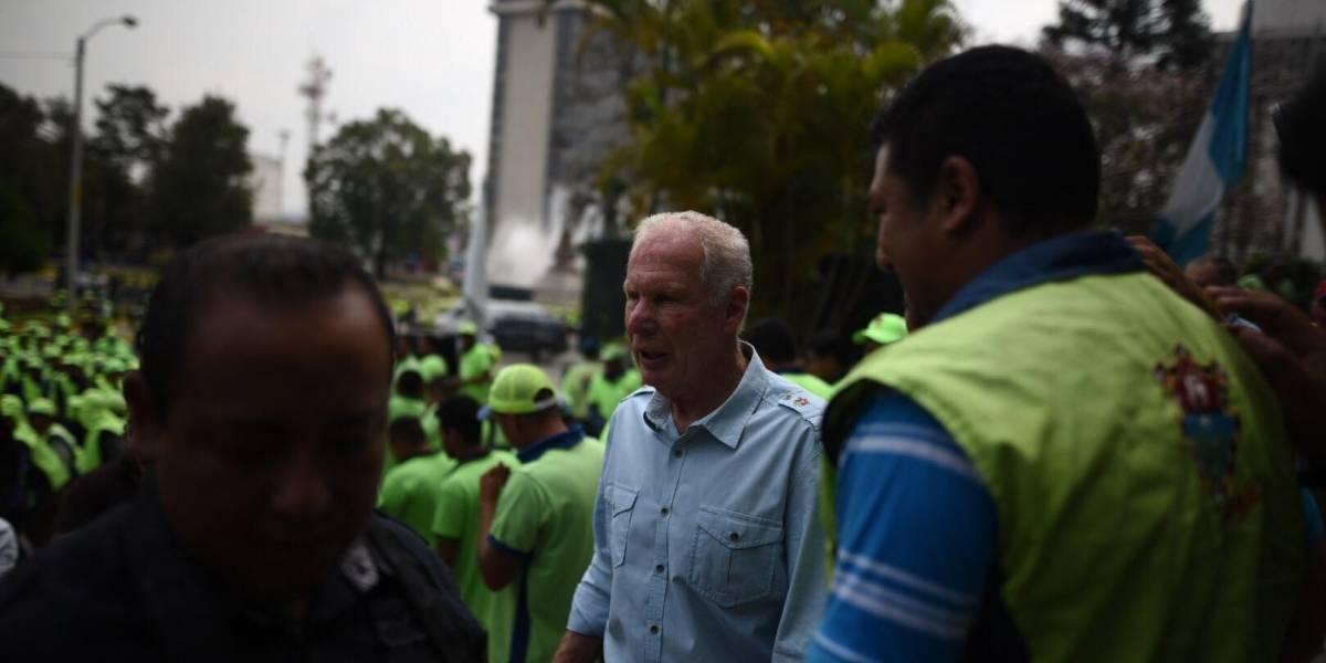 La sorpresiva reacción de alcalde Álvaro Arzú sobre elección a fiscal general