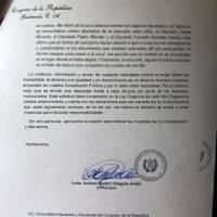 diputada Andrea Villagrán denuncia intimidaciones