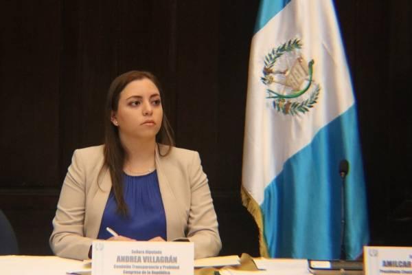 diputada de Todos Andrea Villagrán