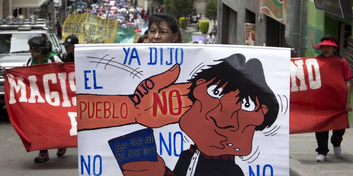 """El secretario de la OEA se descarga contra Evo Morales: """"la reelección no es un derecho humano"""""""