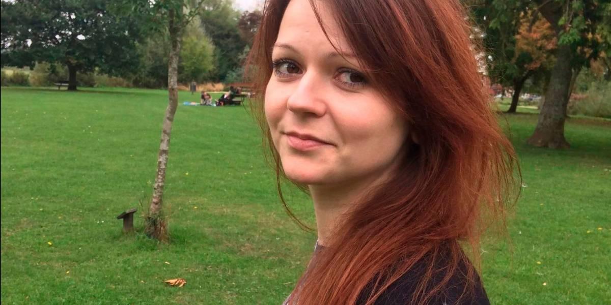 Sale del hospital Yulia, hija del ex espía ruso Serguéi Skripal