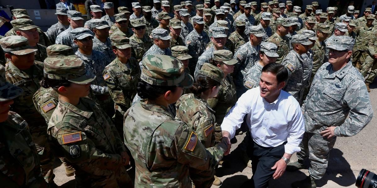 La Guardia Nacional de los EEUU inicia su despliegue en la frontera con México
