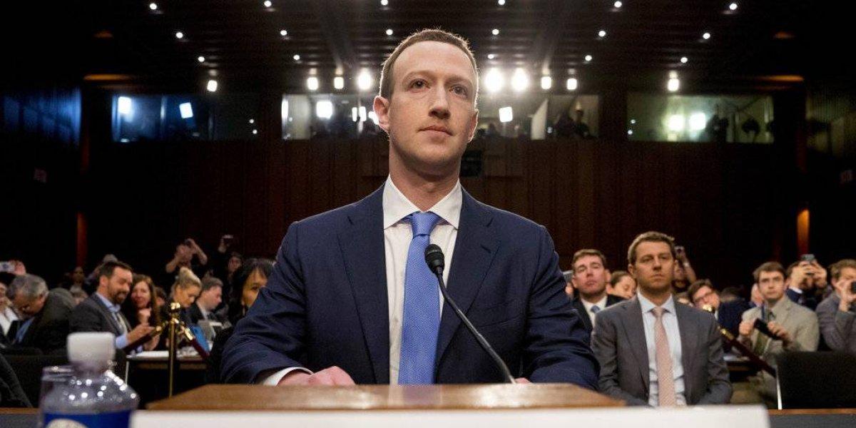"""""""Lo siento"""": Zuckerberg testifica por Facebook ante el Congreso de EEUU"""