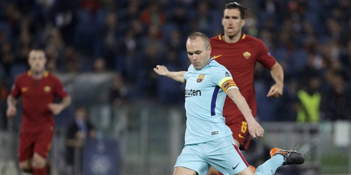 Iniesta habría jugado su último partido de Champions League