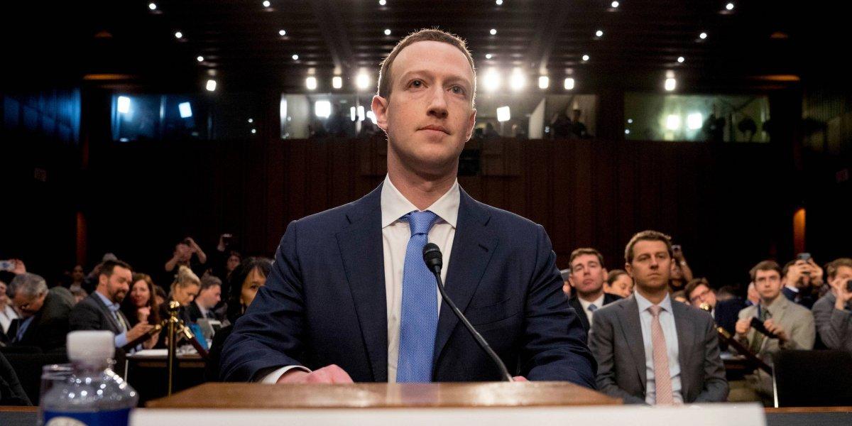 """""""Lo siento"""": Zuckerberg testifica por Facebook ante el Congreso de EU"""