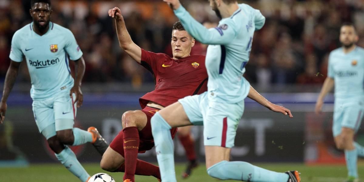 Así vivimos la épica remontada de la Roma frente a Barcelona en Champions League