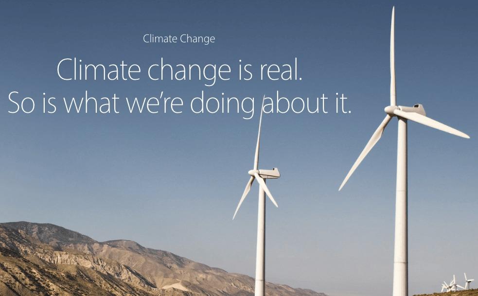 Apple dice que ahora todas sus instalaciones corren en energía 100% renovable
