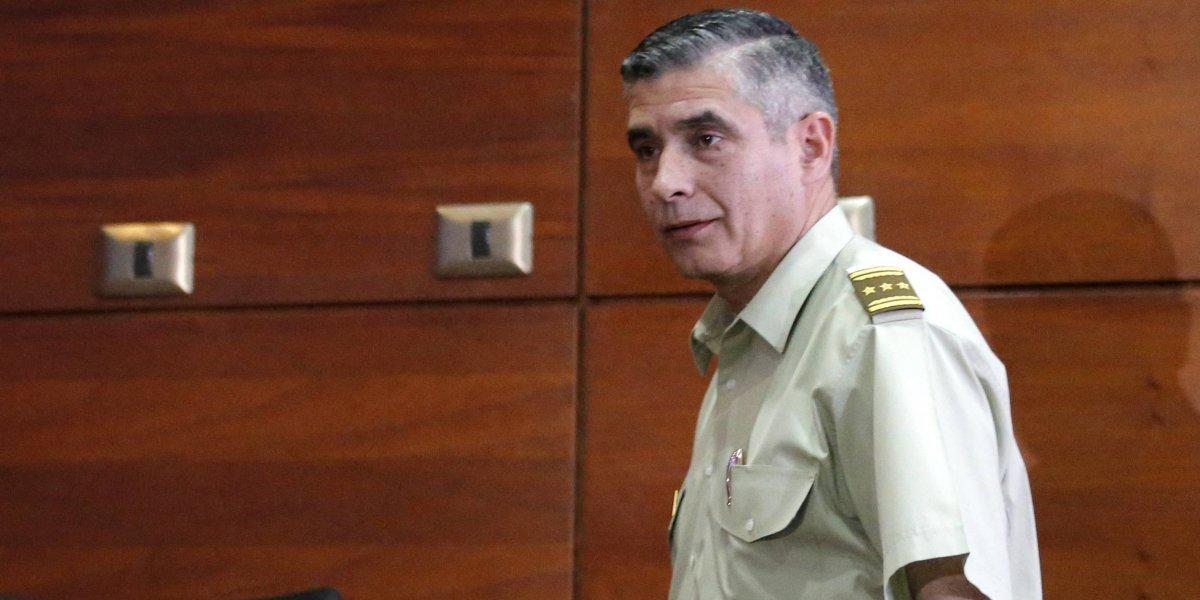 Operación Huracán: tribunal ordena entrega de audios del ex director de Inteligencia de Carabineros