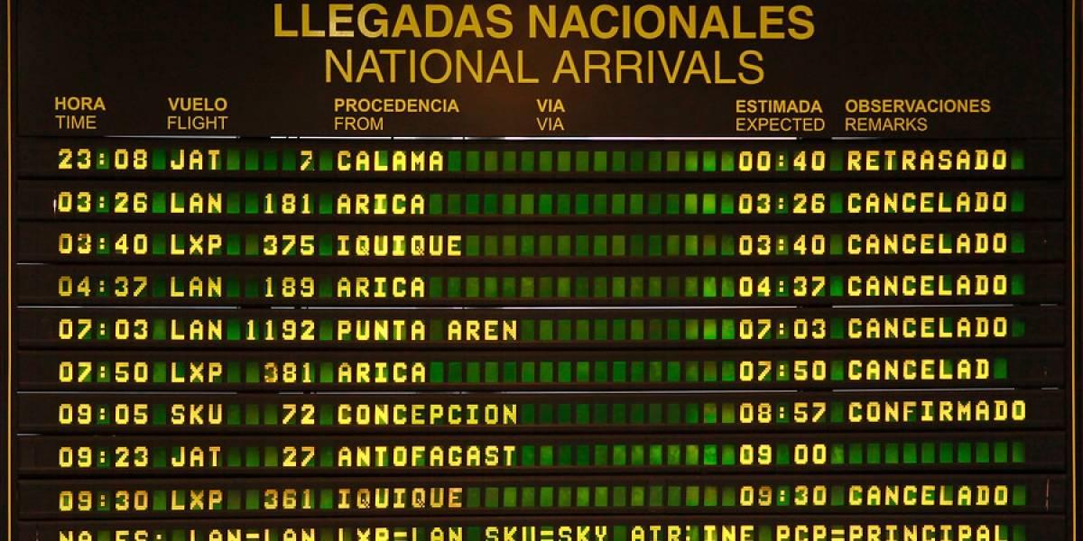 Huelga en los cielos chilenos: Sernac emplaza a Latam para que informe en torno a los impactos al pasajero