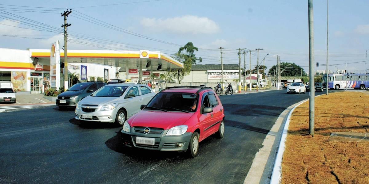 Santo André libera trecho da avenida dos Estados