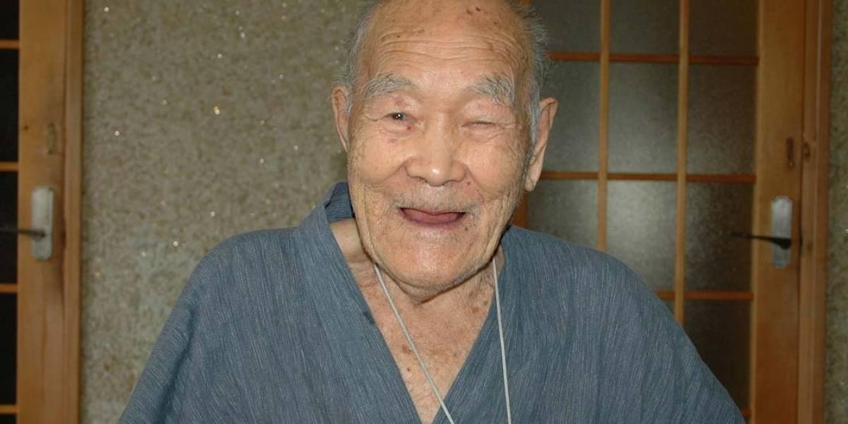 Masazo Nonaka, de 122 años, el hombre más viejo del mundo