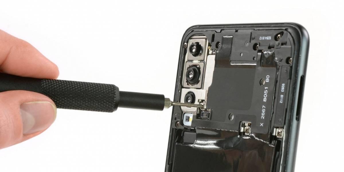 ¿Qué tan difícil de reparar es el Huawei P20 Pro? iFixit responde