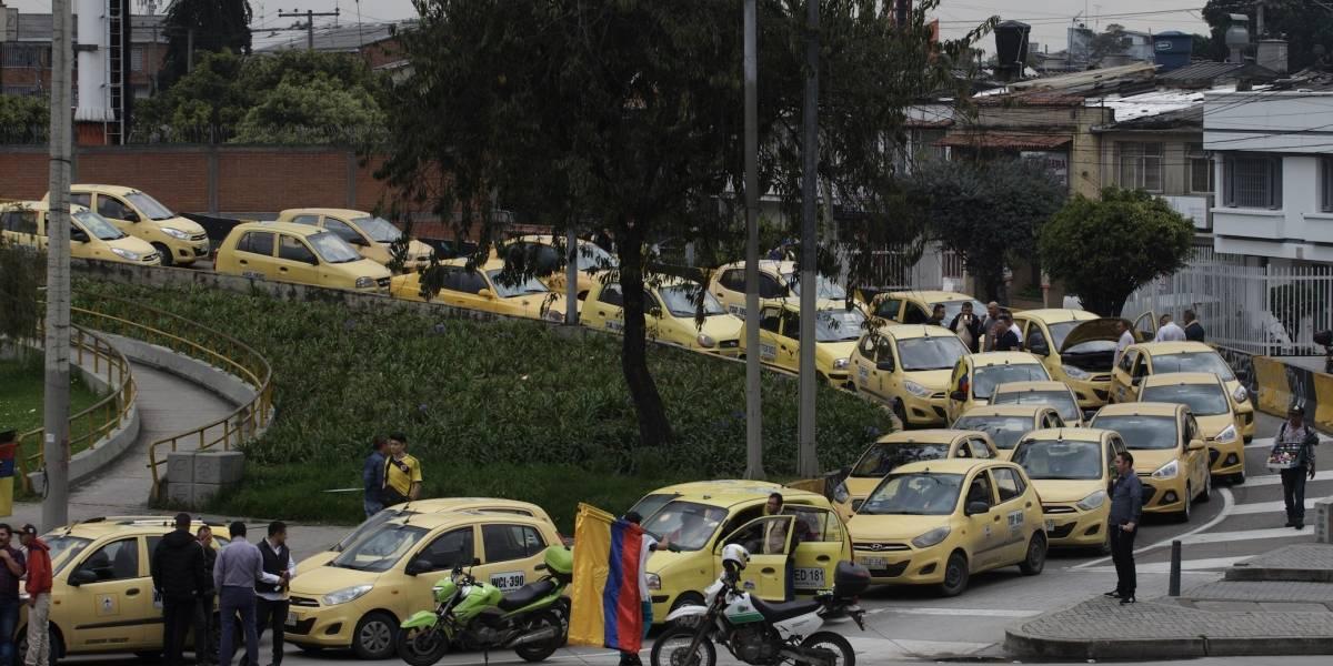 Los taxis del Aeropuerto