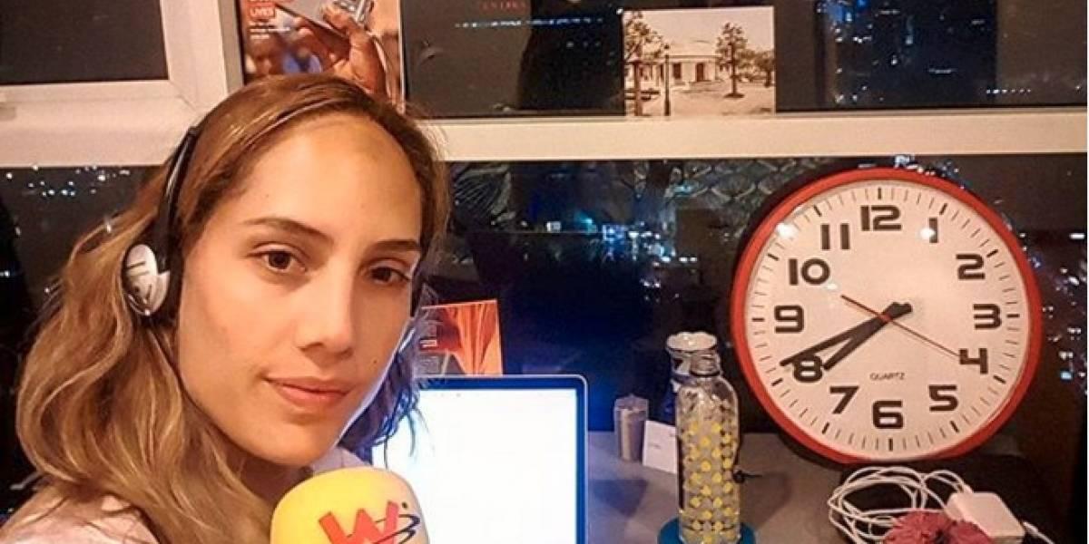Camila Zuluaga explicó porqué se fue de la W Radio y si vuelve a la radio