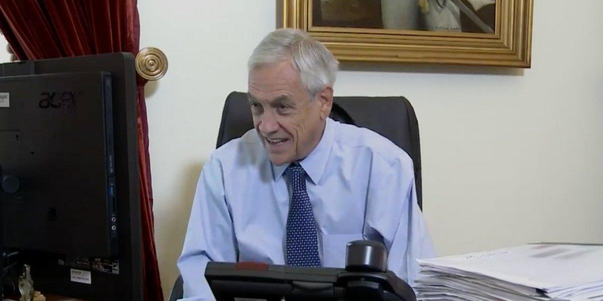 La nueva forma de gobernar: Presidente Piñera explica por Facebook Live el decreto que exige visa a migrantes