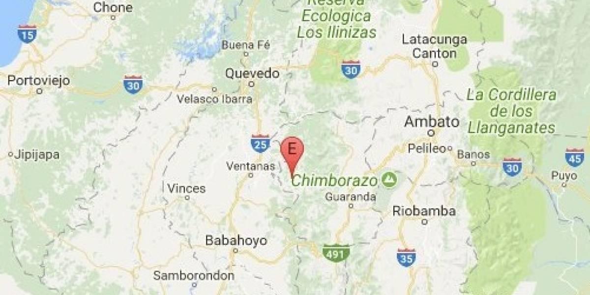 Sismo se reportó en Echeandía, Bolívar