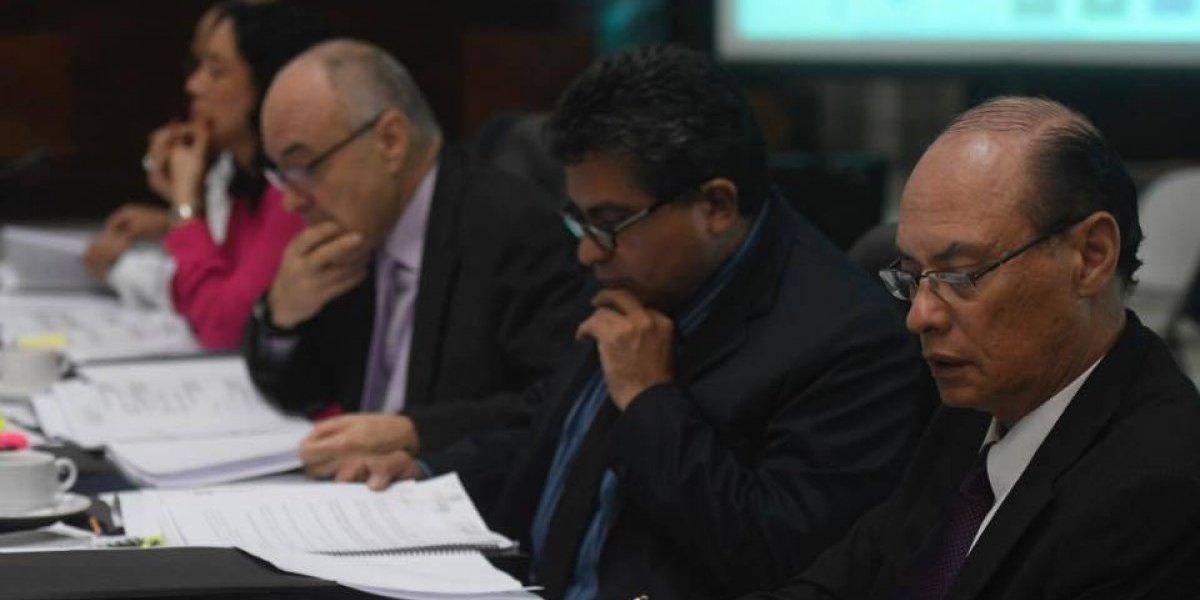 Suman tres los aspirantes a Fiscal General excluidos en fase de ponderación de expedientes