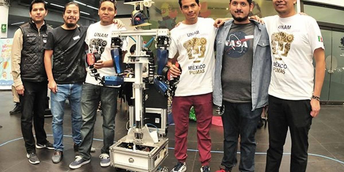 Robots de la UNAM competirán en torneo en Canadá