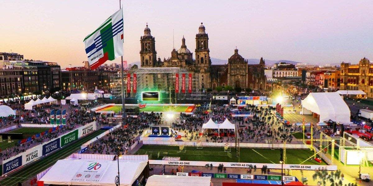 El Zócalo será sede del Fan Fest en el Mundial 2026