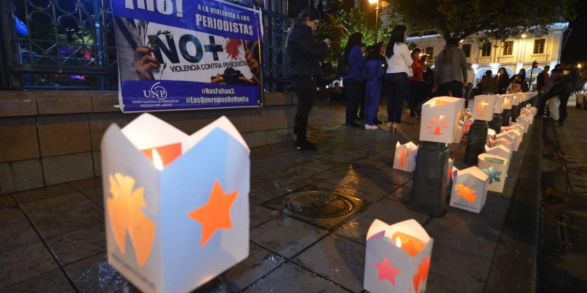 Familias piden a Cancillería que involucre a Colombia en caso de secuestrados
