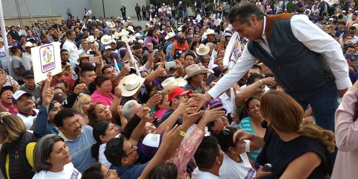 TEPJF avala candidatura de El Bronco a la Presidencia