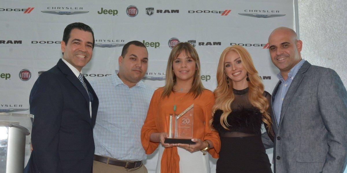 Fiat Chrysler reconoce trayectoria de sus dealers