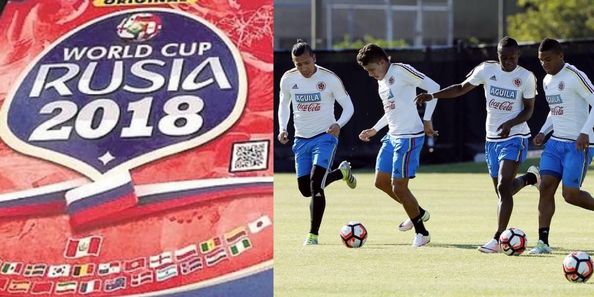 Insólita nómina de Selección Colombia en álbum peruano del Mundial Rusia 2018