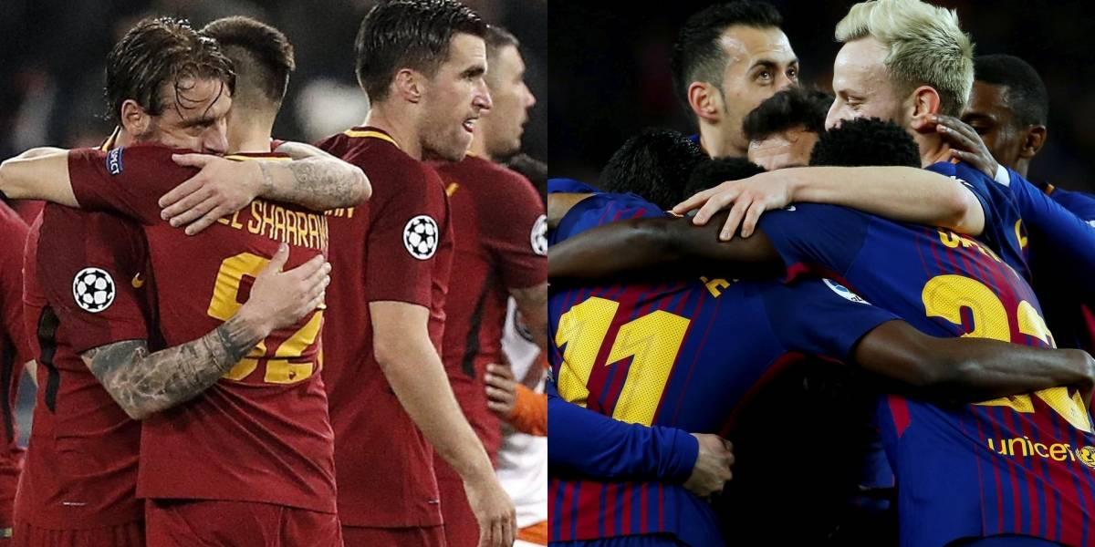 """El Barça quiere volver a """"semis"""" tres años después ante una Roma tocado"""