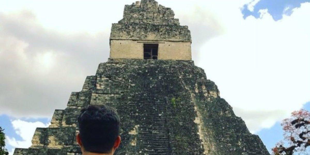 Foto de aficionado del Madrid en Tikal desata una guerra con fan del Barcelona