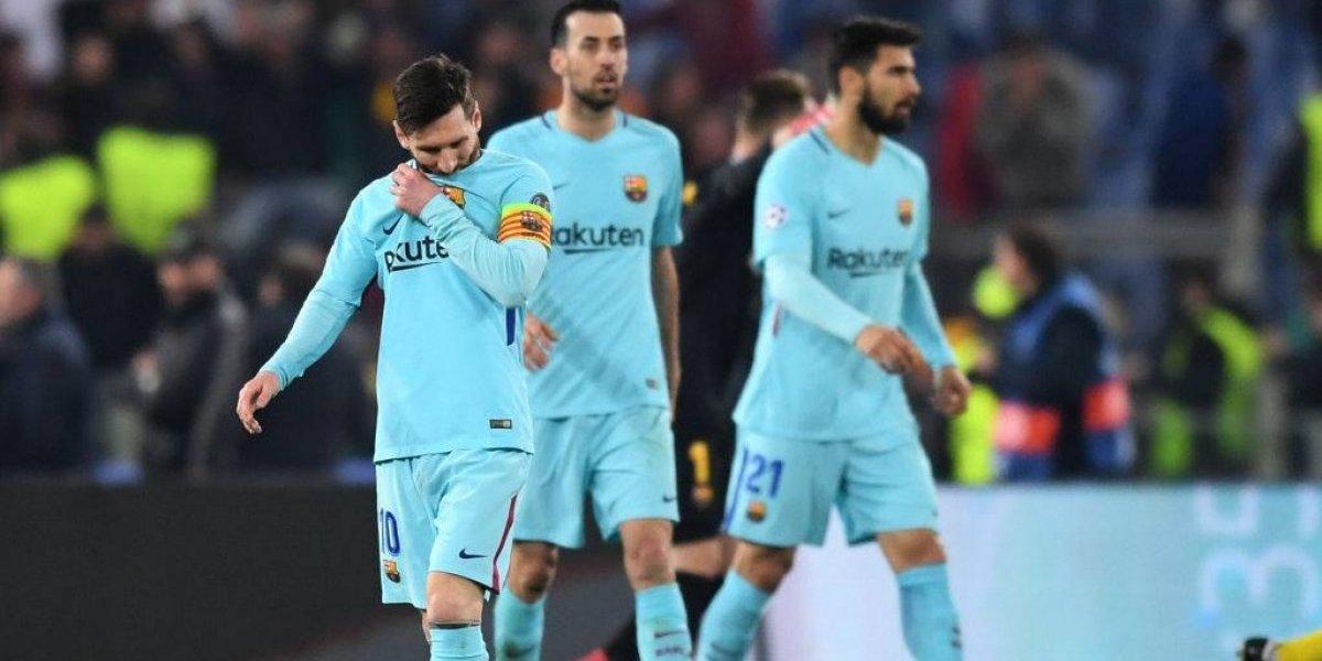 ¡Increíble! La Roma elimina al Barcelona de la Champions League