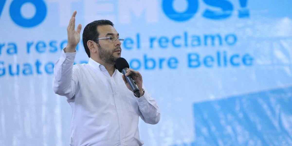 """Presidente sobre diferendo con Belice: """"Tenemos muchas pruebas históricas a nuestro favor"""""""