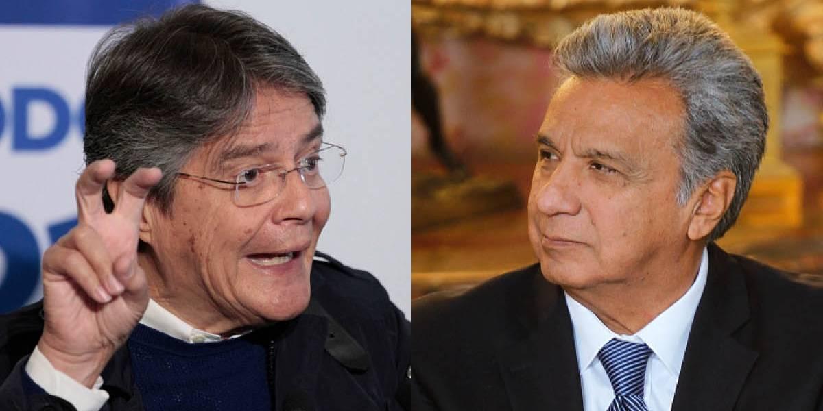 Guillermo Lasso sobre Lenín Moreno: Su discurso nos deja esperando acciones concretas