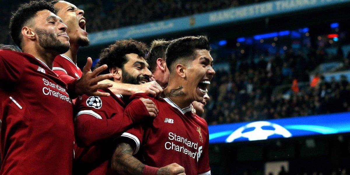 Champions League: Liverpool gana 1-2 al Manchester City y cristaliza su paso a semifinales